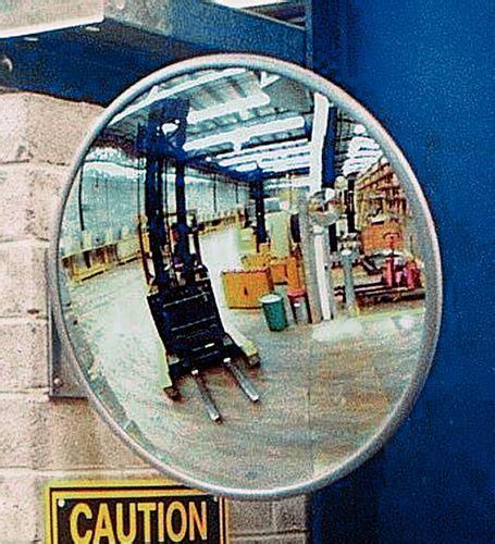 miroir noir 2216 miroir industriel incassable en plexiglas 400 mm