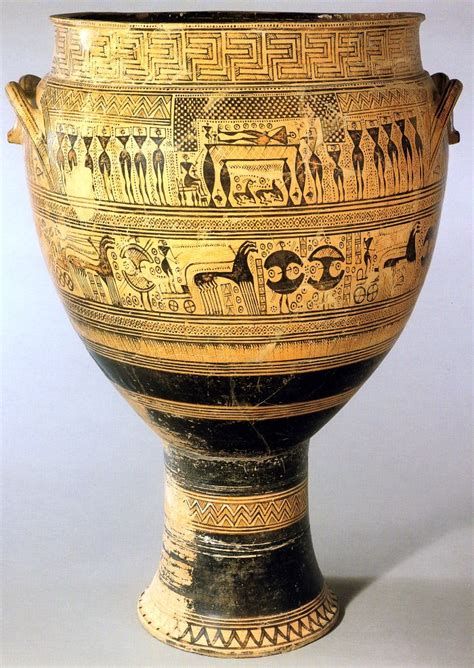 Funerary Vase Krater by Funerary D 233 Finition What Is