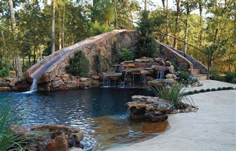 custom backyards unique backyards luxury pools