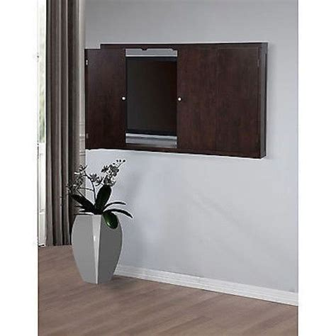 wall mounted tv cabinet wall mount cabinet 50 inch flat screen tv 50 quot conceal