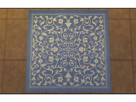 Square Indoor Outdoor Rugs Mod The Sims Courtyard Indoor Outdoor Rugs Square