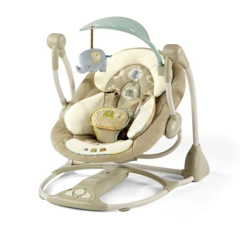 baby swing ingenuity bright starts ingenuity smart quiet portable swing kashmir
