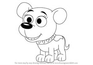 learn how to draw cupcake from pound puppies pound
