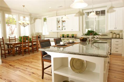 white kitchen cabinets wood floors 52 enticing kitchens with light and honey wood floors