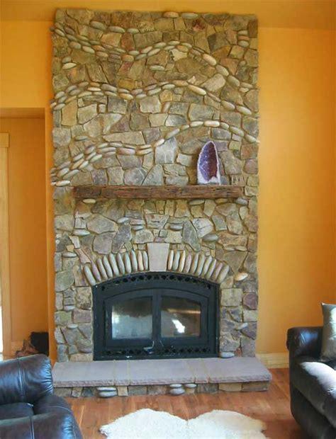 fireplace rock fireplace rock best 25 rock fireplaces ideas on