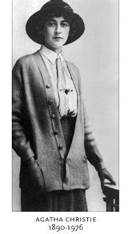 1912 - Agatha Christie at the age of 22. She published her