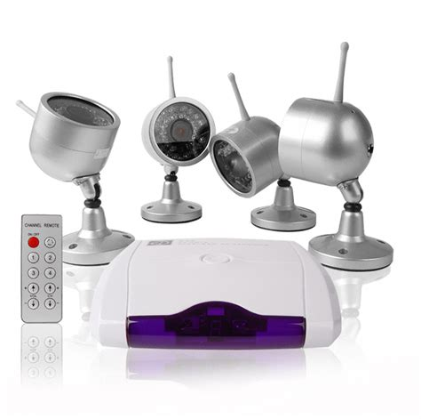 wholesale wireless home surveillance kit 4