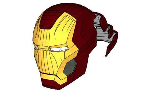 Origami Iron Helmet - size iron xlii 42 helmet ver 4 free