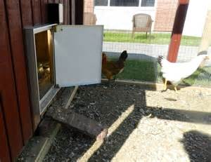 automatic chicken coop door hencam