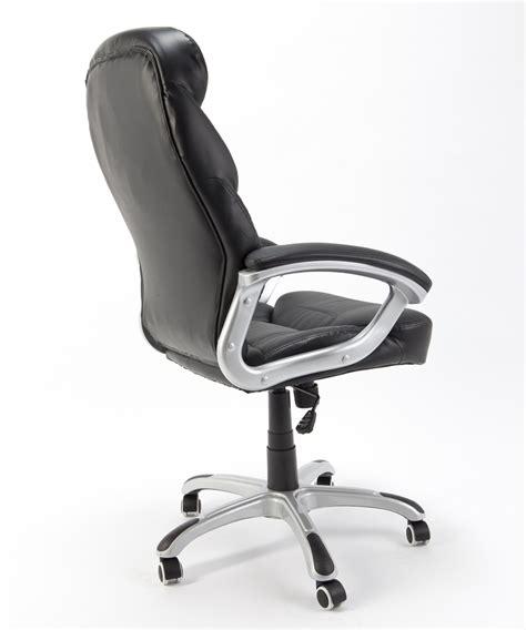 poltrone per ufficio ergonomiche sedia poltrona presidenziale nera girevole ergonomica per