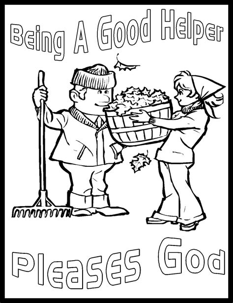 becoming a helper free coloring pages of jesus serving others