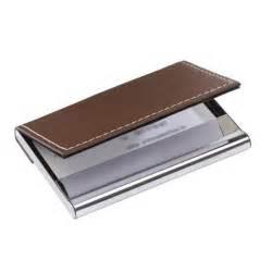 porte cartes de visite superb cuir marron