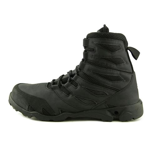 new balance 221 leather black combat boot boots
