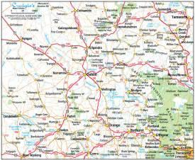 west maps dubbo nsw central west maps directories
