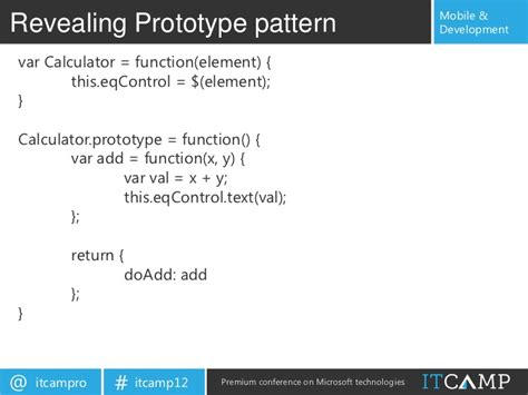 module pattern private variables building single page modular html5 applications for pc