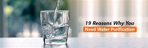 importance  water purification  reasons  purify drinking water