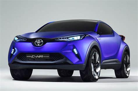chr toyota concept toyota c hr hybrid crossover coupe concept leak ahead of paris
