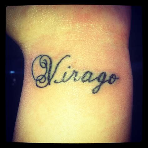 what can i put on my tattoo virago origin a of great inner strength or