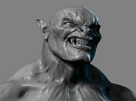 zbrush orc tutorial how to create an orc in zbrush creative bloq