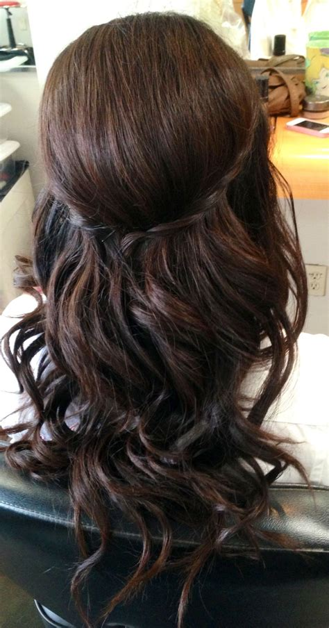 wedding updo wedding hair bridal hair curls half up
