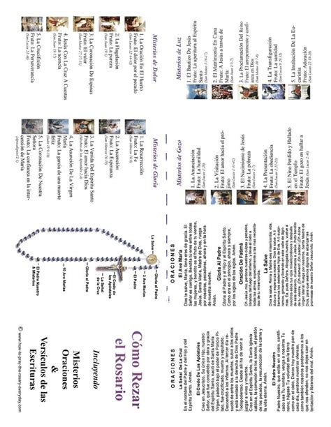 printable rosary instructions 17 best images about april and may themes on pinterest
