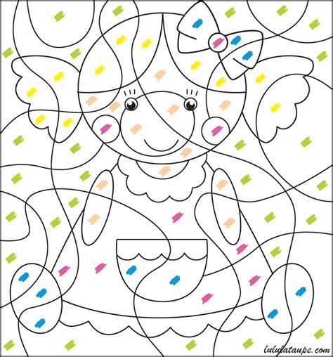 Coloriage Magique Pour Les Tout Petits Lulu La Taupe