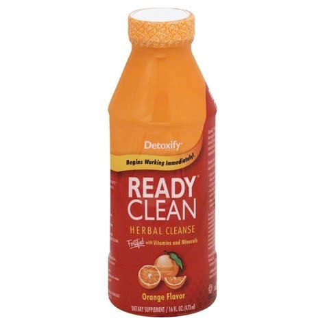 Orange Detox Diet by Detoxify Ready Clean Herbal Cleanse Orange 16 Fl Oz