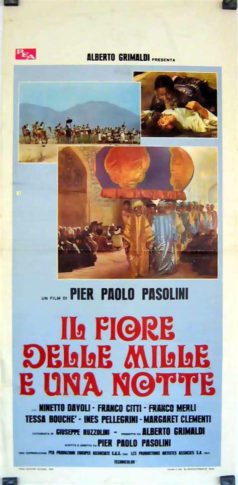 il fiore delle mille e una notte quot las 1001 noches quot poster quot il fiore delle mille e