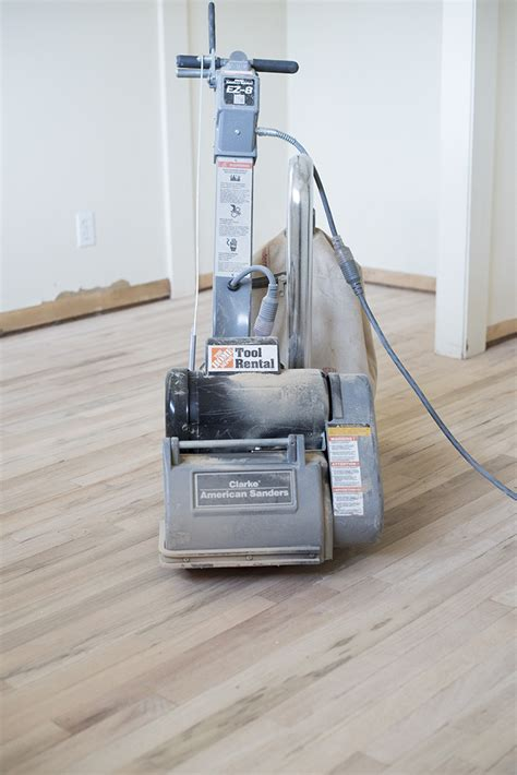 sanding hardwood floors with belt sander how to refinish hardwood floors like a pro room for tuesday