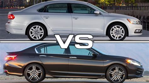 volkswagen cc vs passat 2016 vw passat vs 2016 honda accord