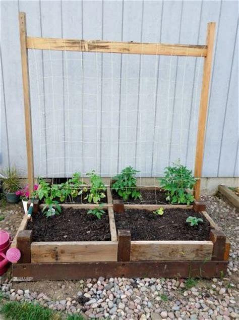 Raised Garden Bed Frame Bed Frame Repurposed As A Raised Garden Bed Gardens And Outdoor Ideas