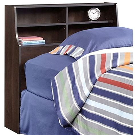 sauder twin headboard sauder beginnings cinnamon cherry twin headboard 415548