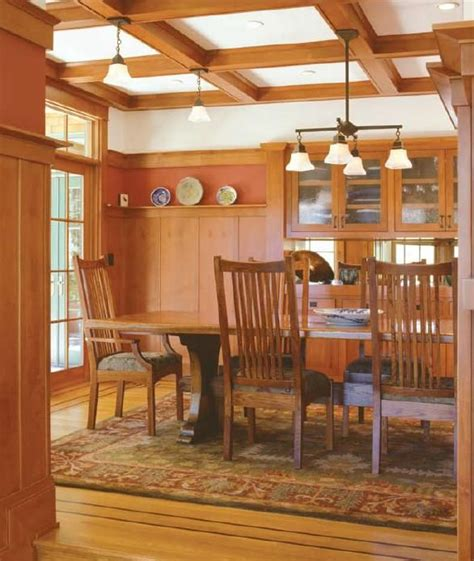 arts and crafts dining room awesome arts and crafts dining room images light of
