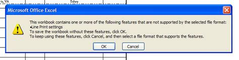 format not saved in excel 2007 the formats of excel 2007