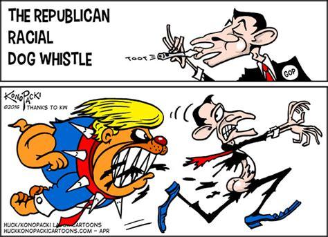 whistle politics republican racial whistle huck konopacki