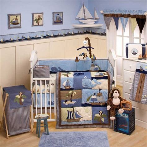 Pirate Ships On Crib Bedding For Boys Webnuggetz Com Pirate Crib Bedding