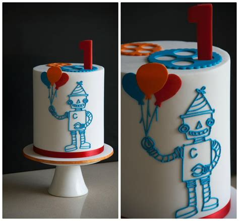 Cupcake Birthday Chubie 36 best robot images on robot cake