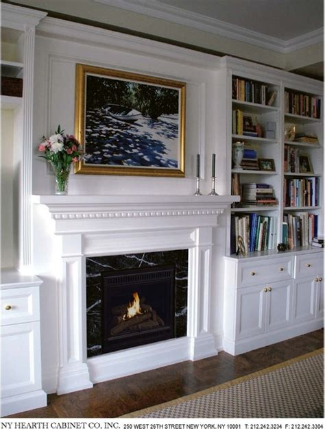 traditional residential fireplace installations