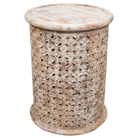 painted wood garden stool for sale at 1stdibs