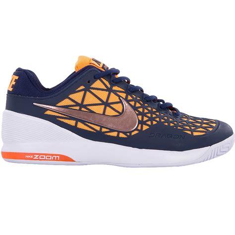 nike youth tennis shoes nike zoom cage 2 junior tennis shoe navy black citrus