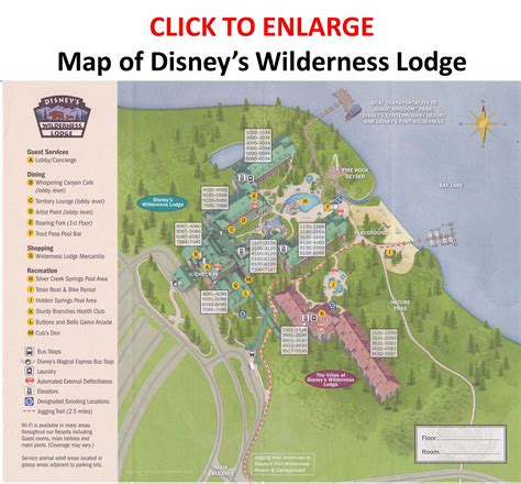 Disney Fort Wilderness Cabins Map by Amenities At Disney S Wilderness Lodge Yourfirstvisit Net