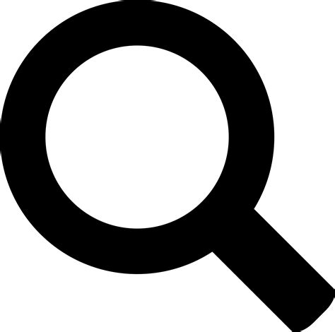 Search De Clipart Search Icon