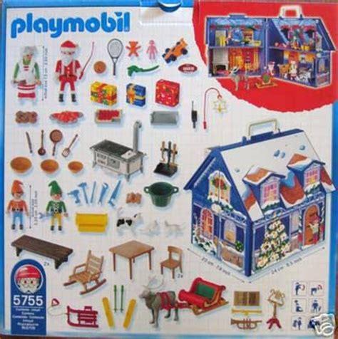 maison du pere noel playmobil 1d f 202 te de no 203 l 5755 3517 ou 4058 maison du p 232 re no 235 l