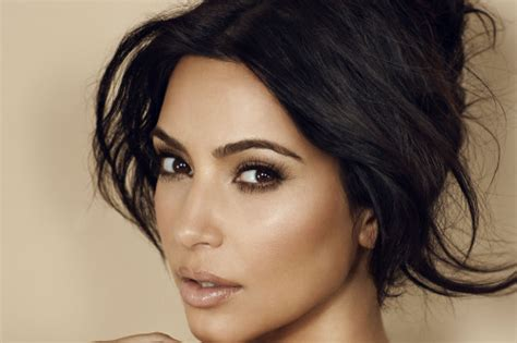 what face shape does kim kardashian have perfect eyebrow shape get the look