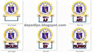 Ribbon Template by Graduation Ribbons Template Deped Lp S