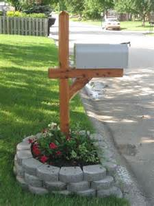 25 best ideas about mailbox planter on front