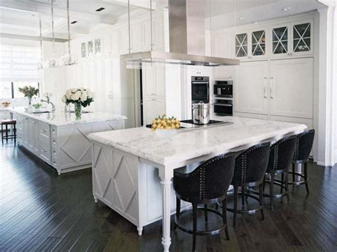 double kitchen island designs best 25 double island kitchen ideas on pinterest double