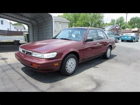1989 nissan stanza 1989 nissan stanza problems online manuals and repair