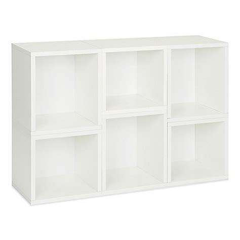 bed bath and beyond arlington way basics arlington modular organizer and bookcase in