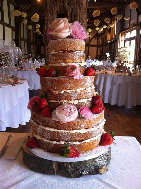 3 Tier, 9 sponge victoria sandwich wedding cake! My first